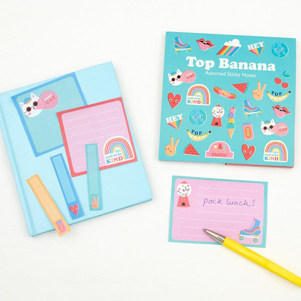 Top Banana Sticky Notes 29185