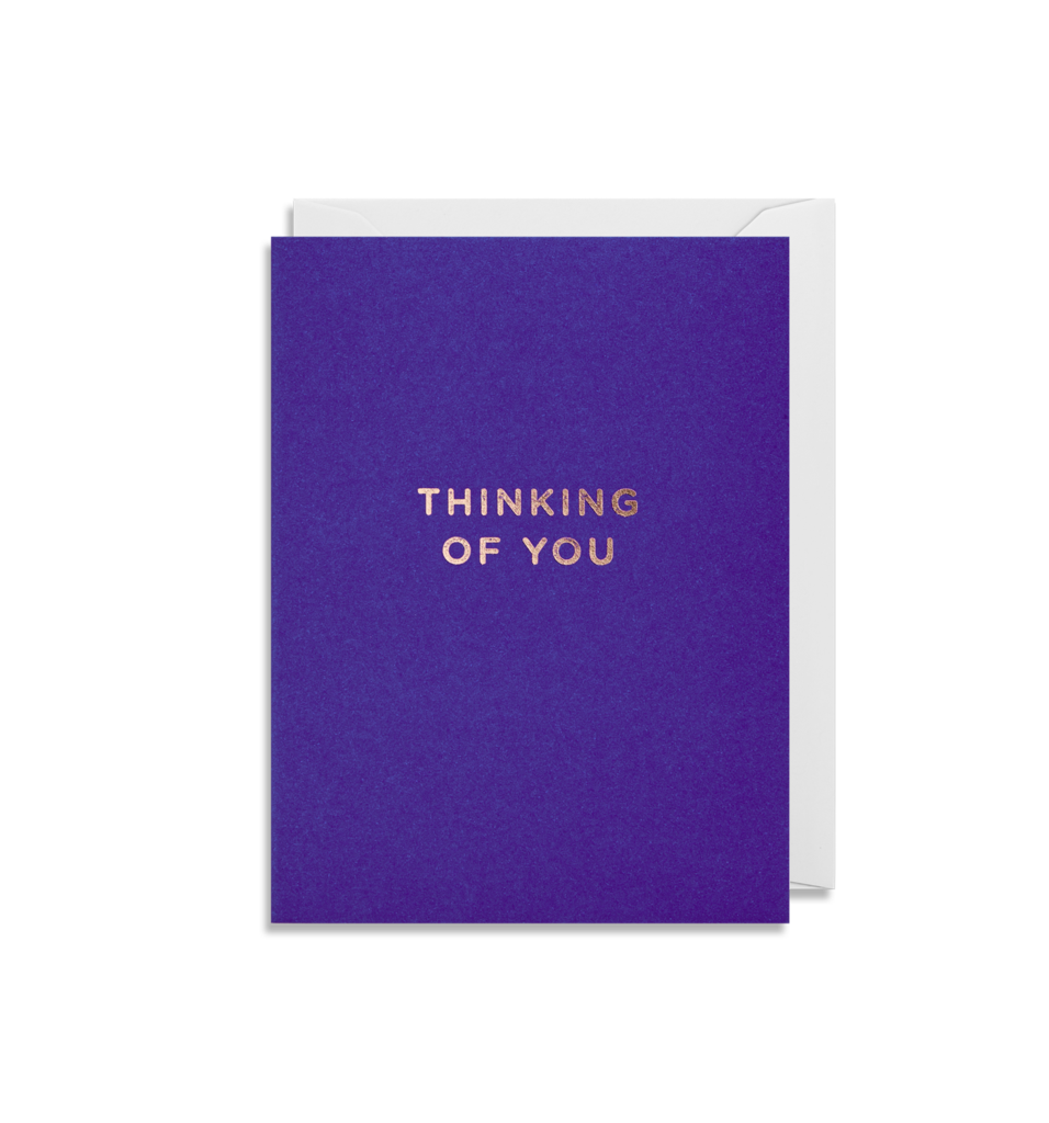 4207 - Mini Card Thinking of You