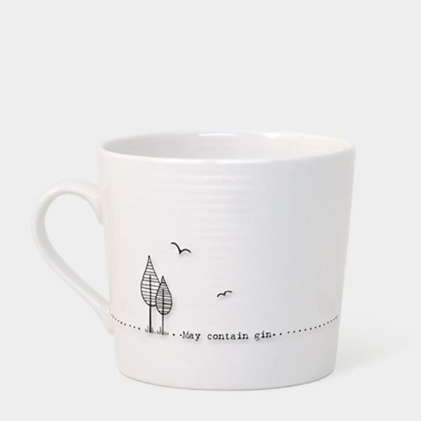 Wobbly mug - May contain gin