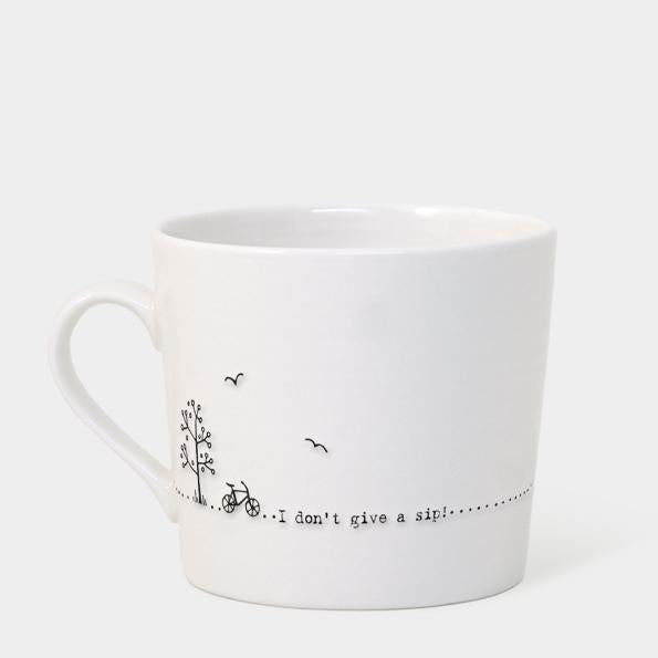 Wobbly mug - Don't give a sip