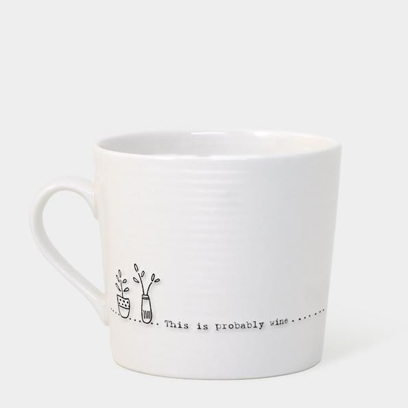 5906 Wobbly mug - Probably wine