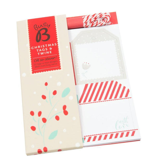 CHRISTMAS TAGS & TWINE - Mrs Best Paper Co.