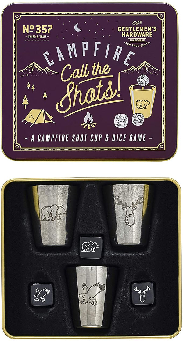 Gentlemen's Hardware Unisex's Campfire Call The Shots Game