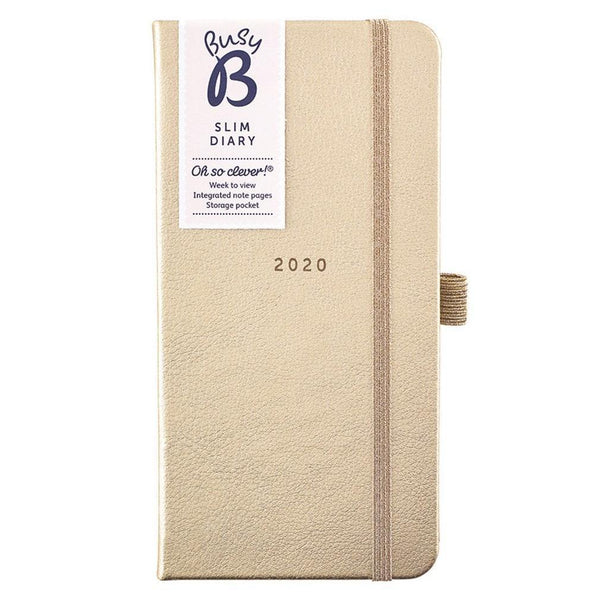 SLIM DIARY 2020 - BREEZY BLOSSOMS - Mrs Best Paper Co.