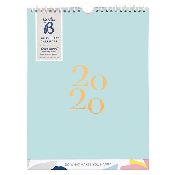 BUSY LIFE CALENDAR 2020 - SORBET SHORES - Mrs Best Paper Co.
