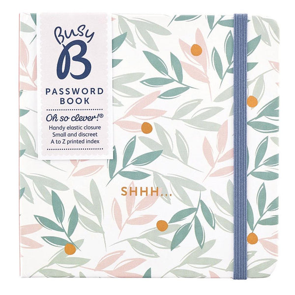 Password Book - Breezy Blossoms