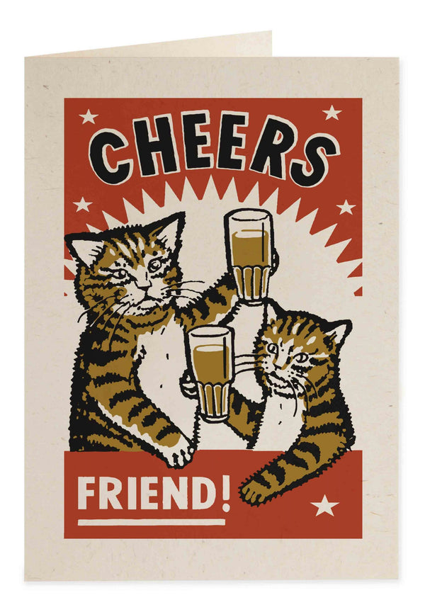 Cheers Friend Card AM06