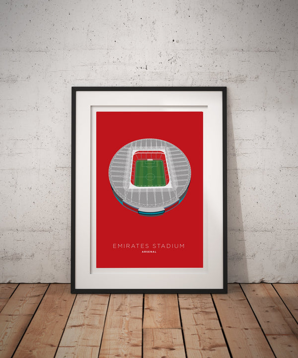 A4 Arsenal Football Stadium Print / Poster