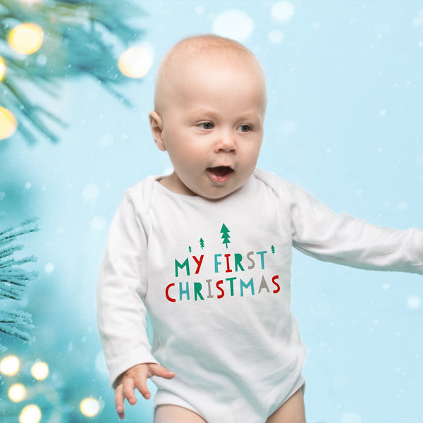 My First Christmas - Baby's First Christmas Outfit