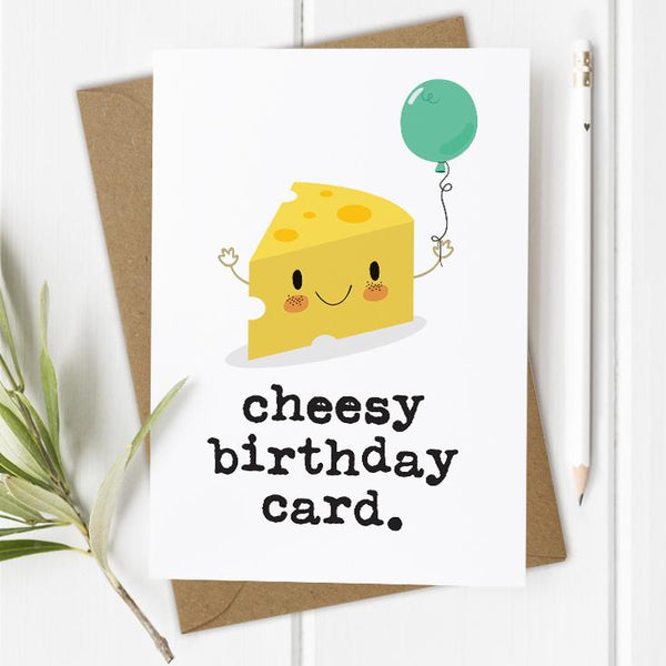 Cheesy Birthday Card
