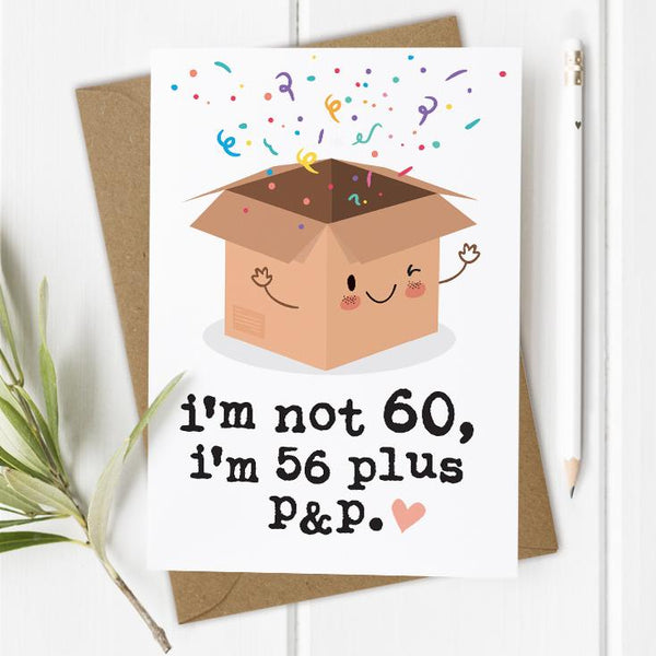 Funny 60th Birthday Card