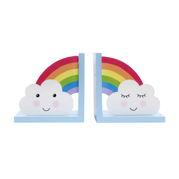 Rainbow Day Dreams Bookends