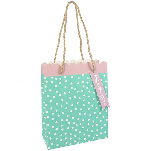 Green Scallop Gift Bag