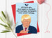 Funny Donald Trump Christmas Card