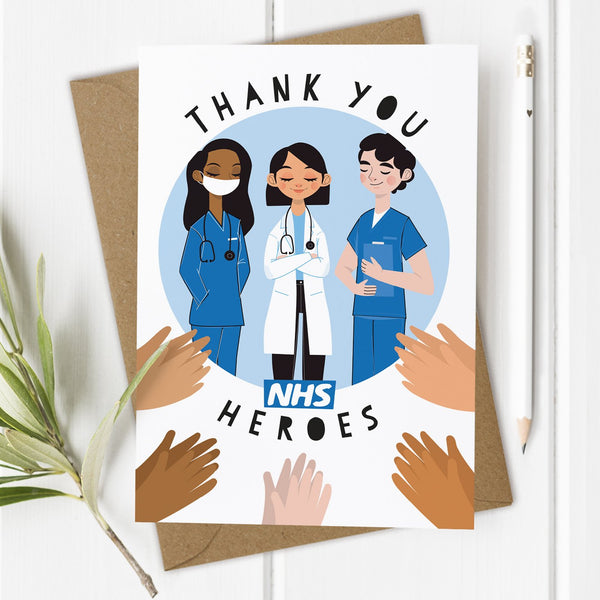 Thanks NHS Birthday Card