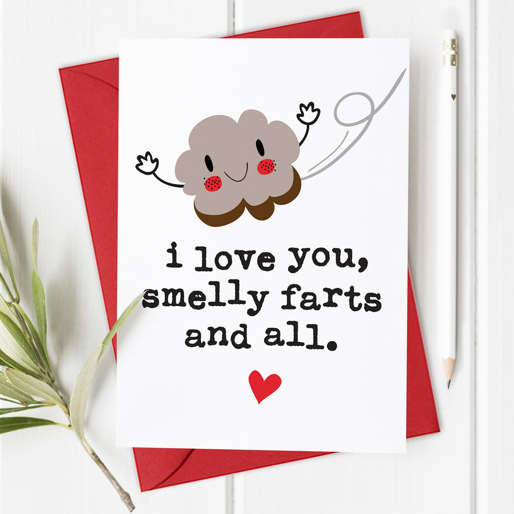 Smelly Farts - Funny Valentine's Day Card / Anniversary