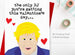 Rude Boris Johnson Valentine's Day Card