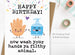 Happy Birthday Wash Your Hands Funny Card