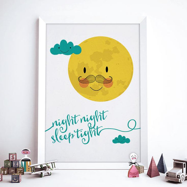 Night Night Sleep Tight Print