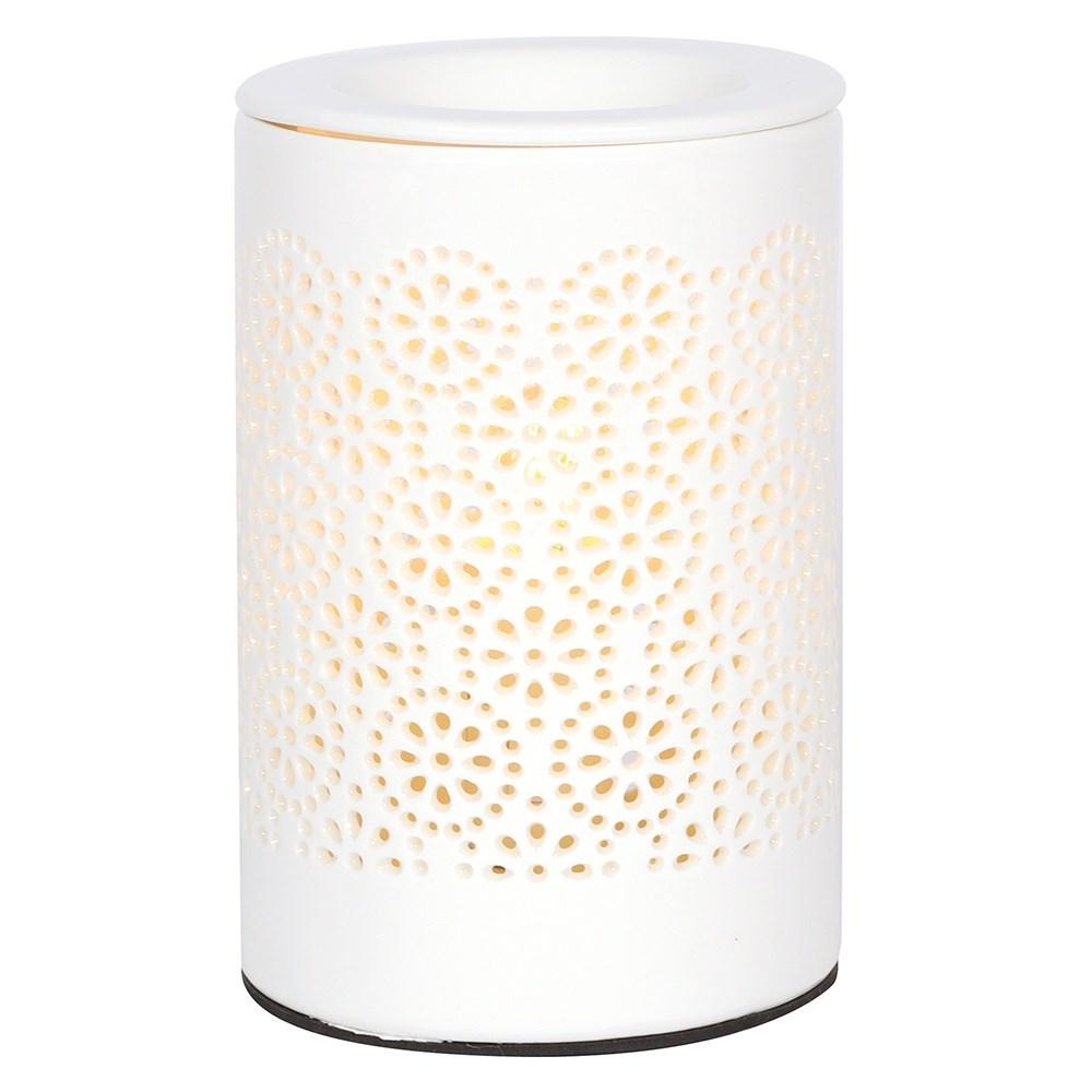 Circle Cut Out Electric Oil Burner / Aroma Diffuser Atomiser