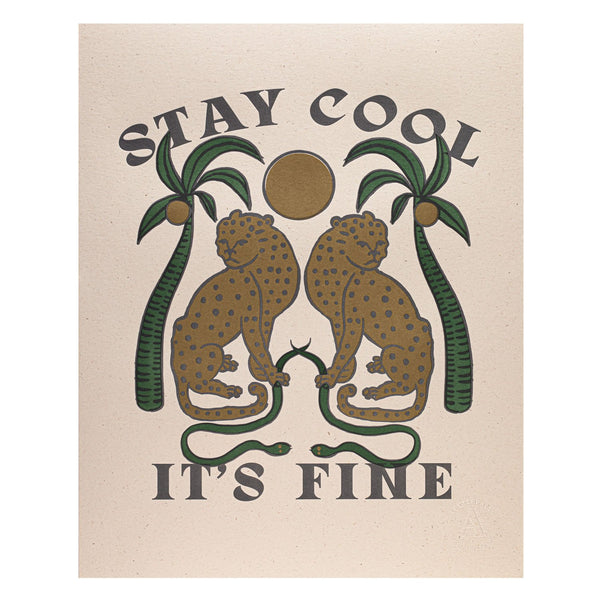 Stay Cool Print