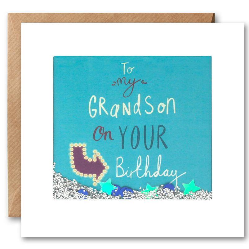 PS2423 - Grandson Shakies Card - Mrs Best Paper Co.