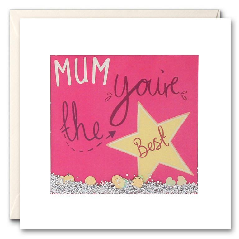 PS2493 - Mum You're the Best Shakies Card
