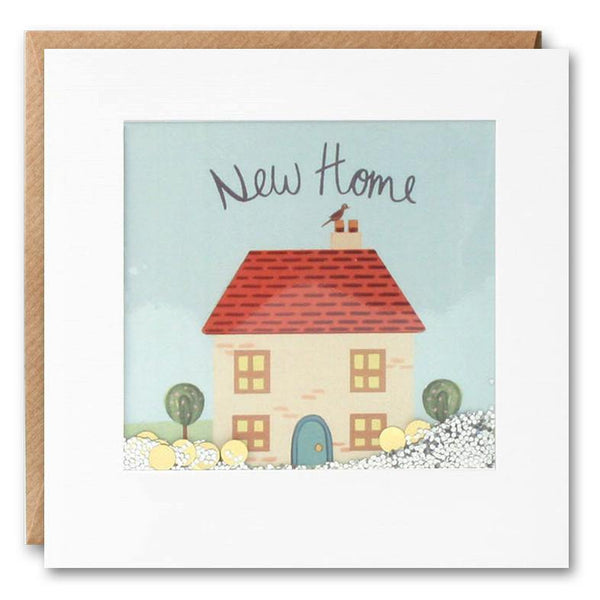 PS2821 - New Home Cottage Shakies Card - Mrs Best Paper Co.