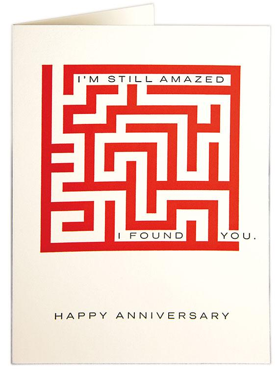 Amazed Anniversary Card QP262