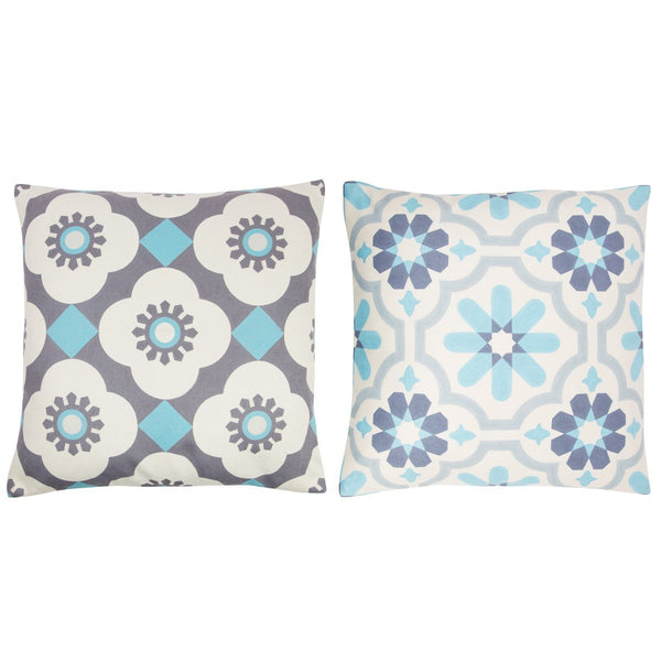 Mediterranean Mosaic Cushion Assorted