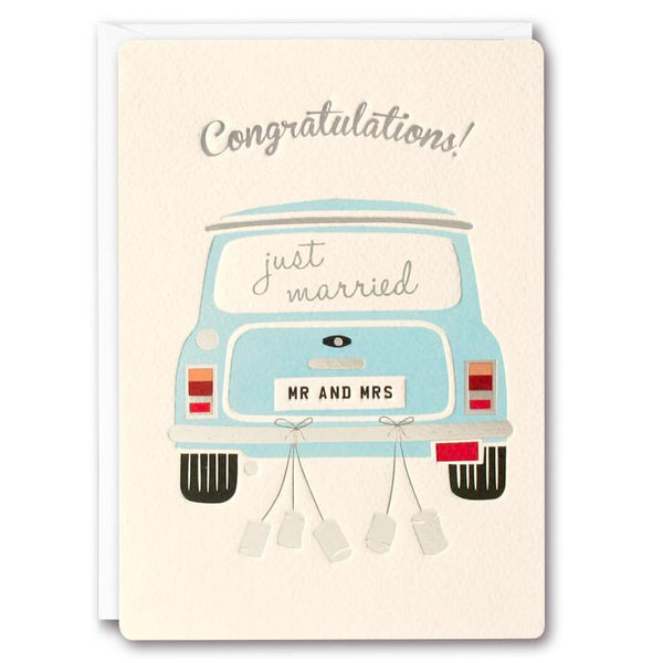 T2240 - Wedding Mini Retro Press Card - Mrs Best Paper Co.
