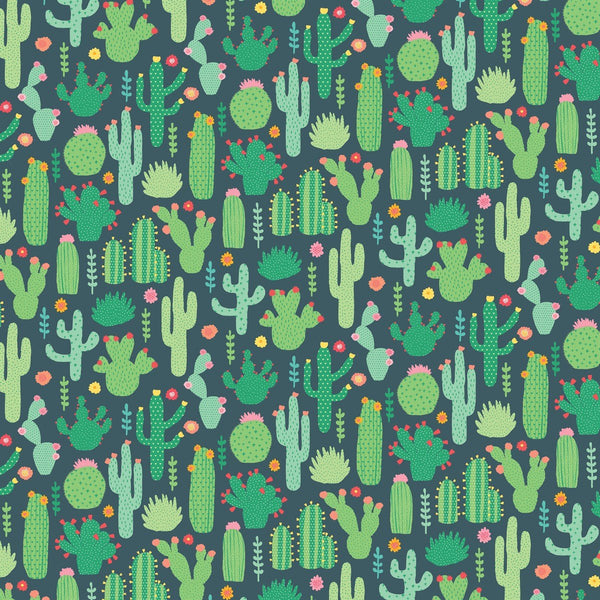 Colourful Cactus Wrapping Paper - Single Sheet