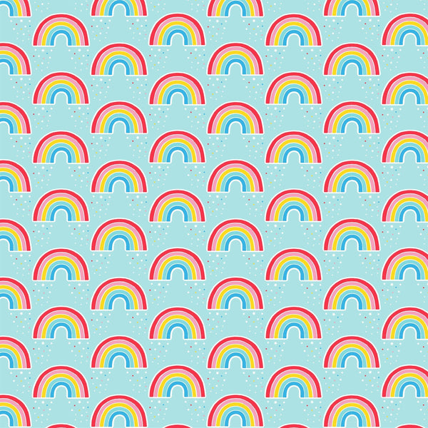 Chasing Rainbows Wrapping Paper - Mrs Best Paper Co.