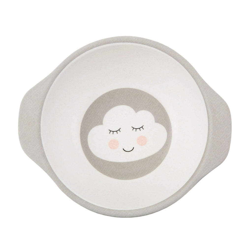 Sweet Dreams Cloud Bamboo Kid's Bowl - Mrs Best Paper Co.