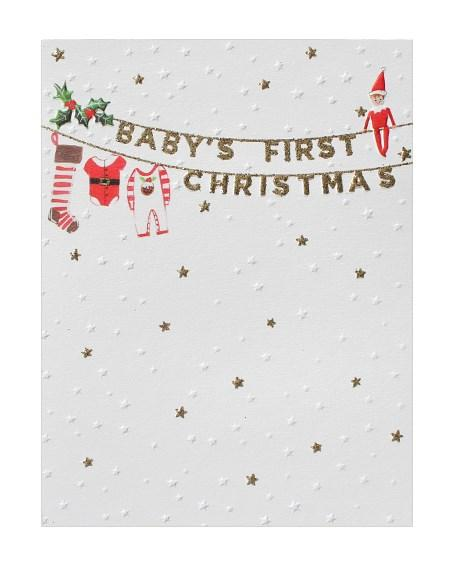 Baby's First Christmas (SF1914) - Mrs Best Paper Co.