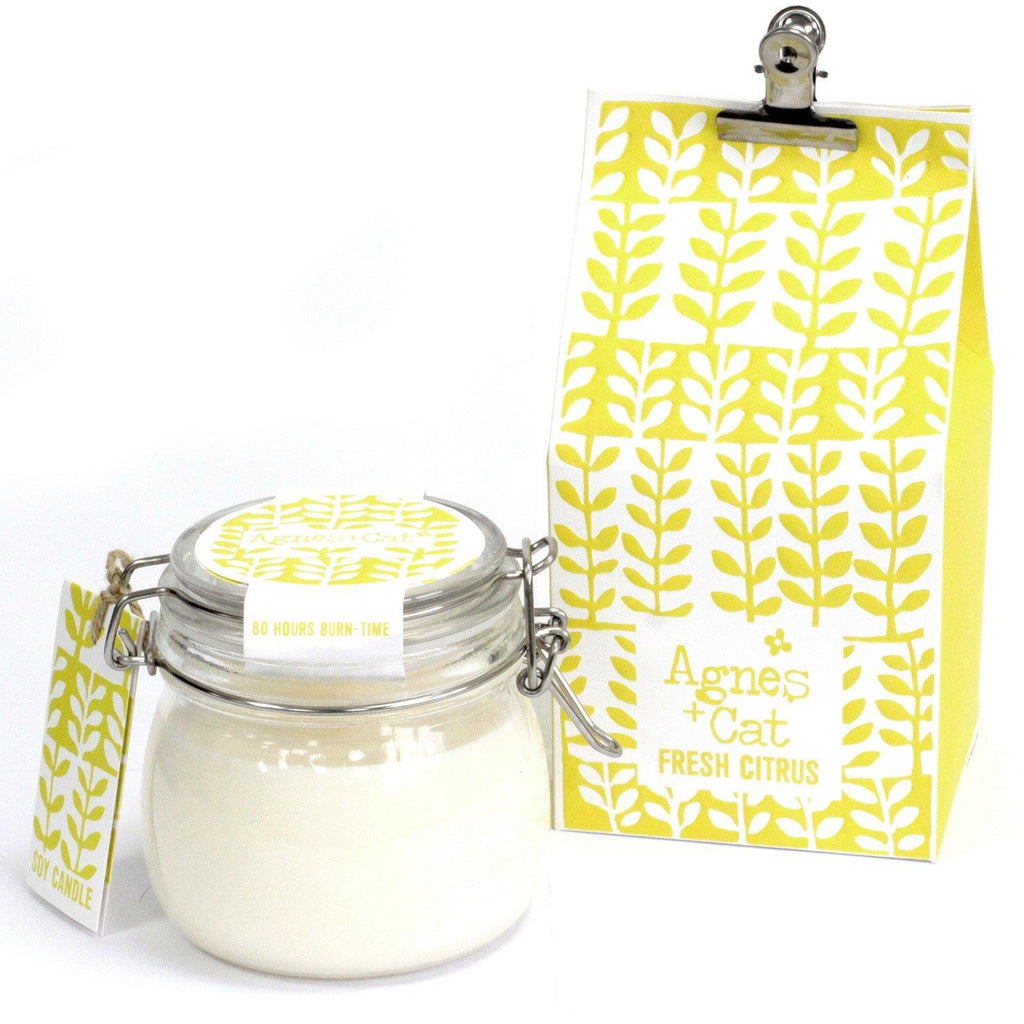 Kilner Candle - Citrus - Mrs Best Paper Co.