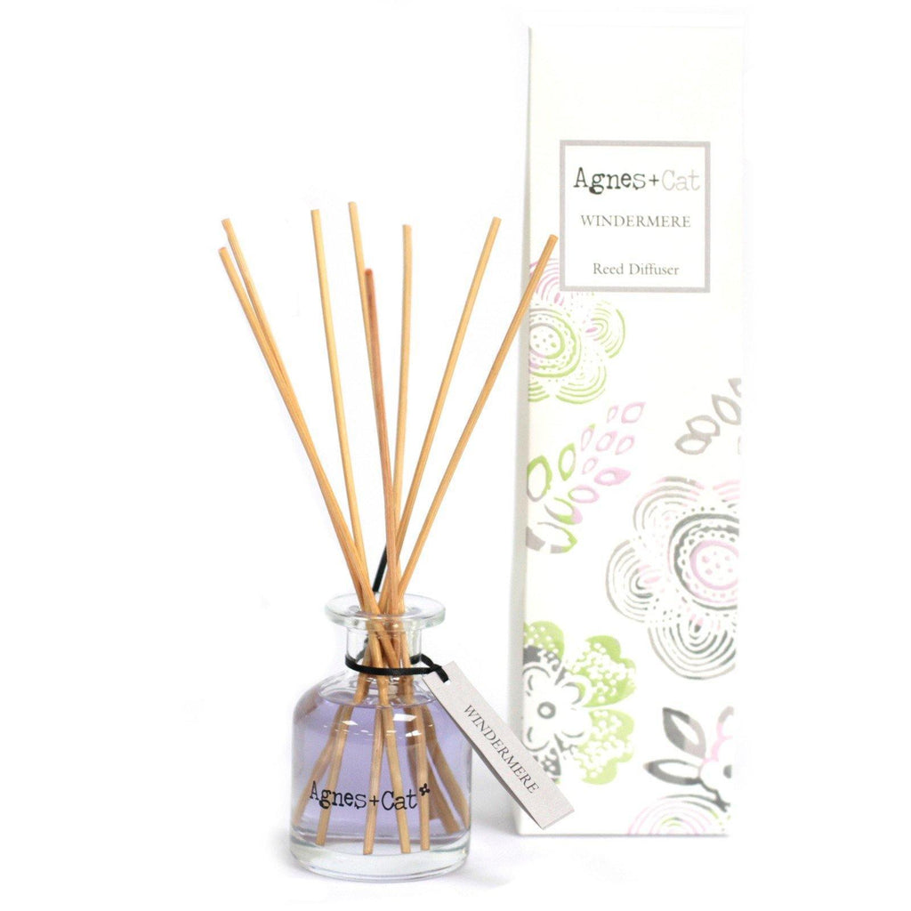 Agnes + Cat 140ml Reed Diffuser - Windermere - Mrs Best Paper Co.