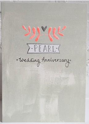 Pearl Wedding (WH1714) - Mrs Best Paper Co.