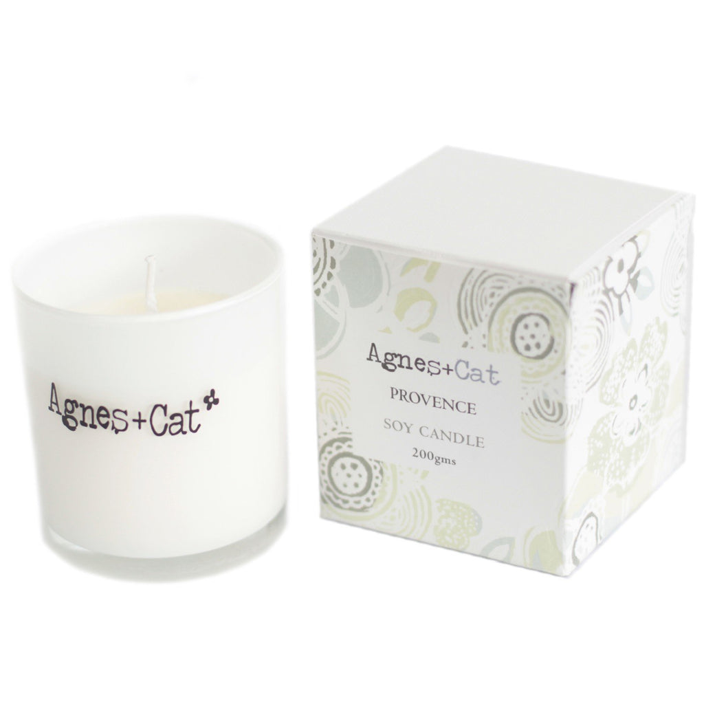 White Provence Votive Soy Candle 200g ACVC-22