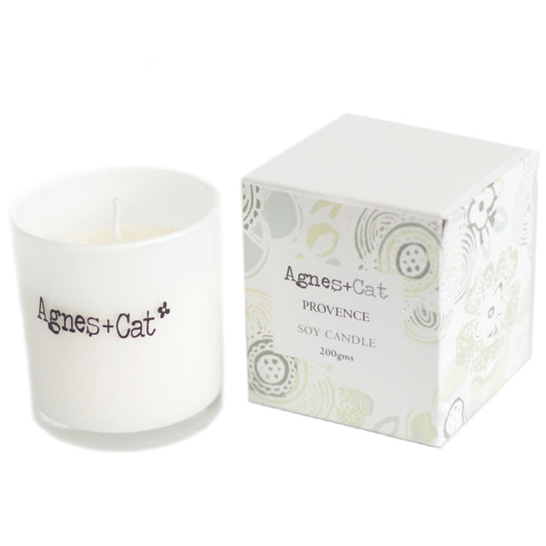 White Provence Votive Soy Candle 200g