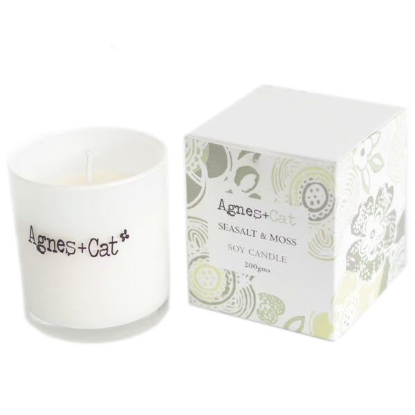 Seasalt & Moss Votive Soy Candle 200g - Mrs Best Paper Co.