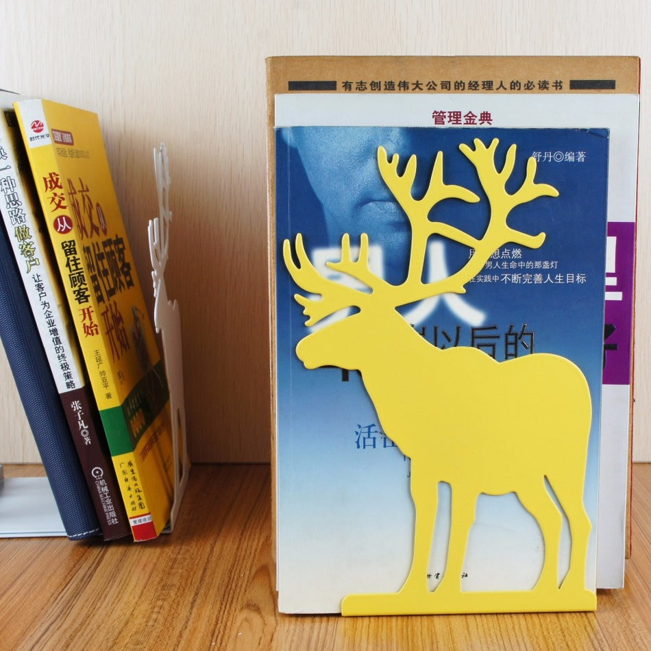 Reindeer Bookends