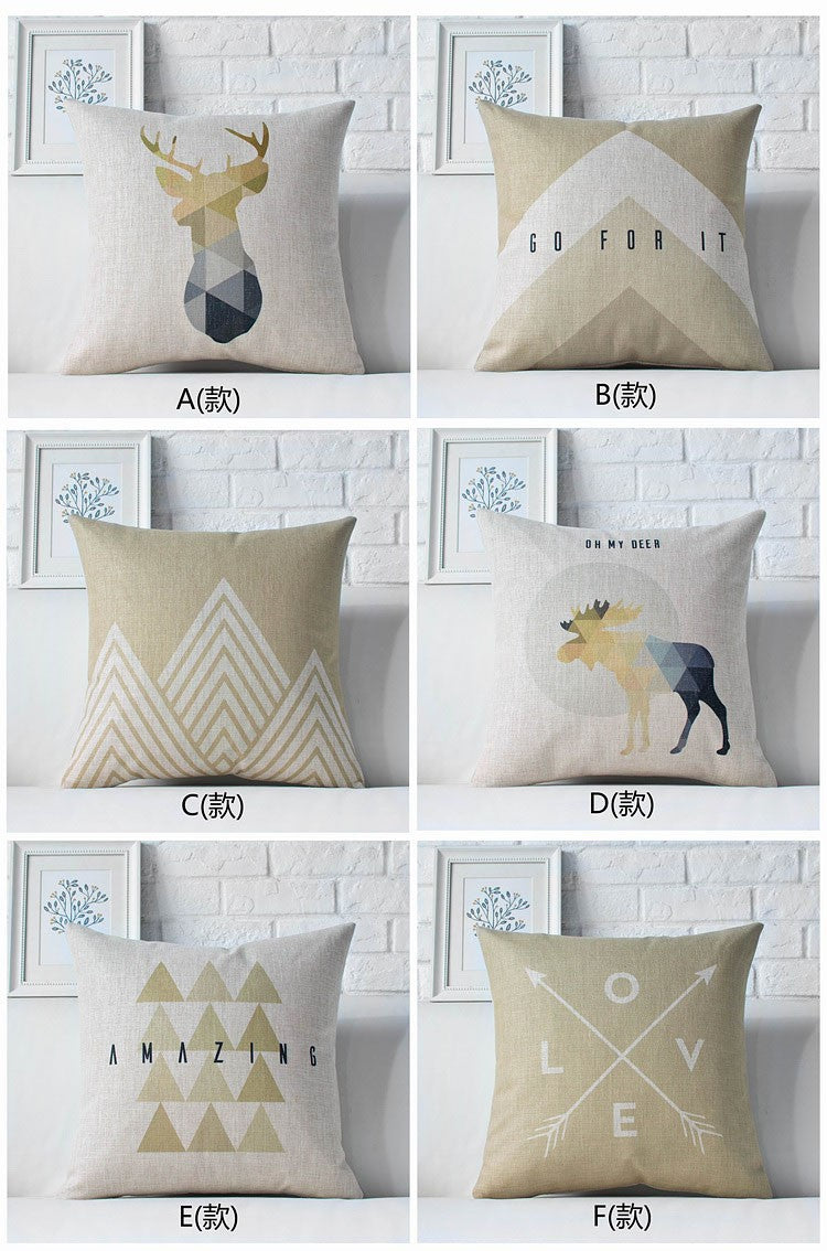 Majestic Kids - Geometric Cushion Covers [Product type]