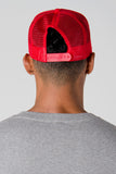 Red & Black Trucker Cap