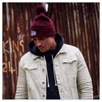 Bubble Hat Burgundy