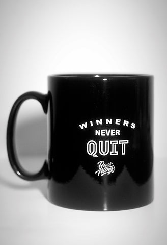 Winners Never Quit Mug