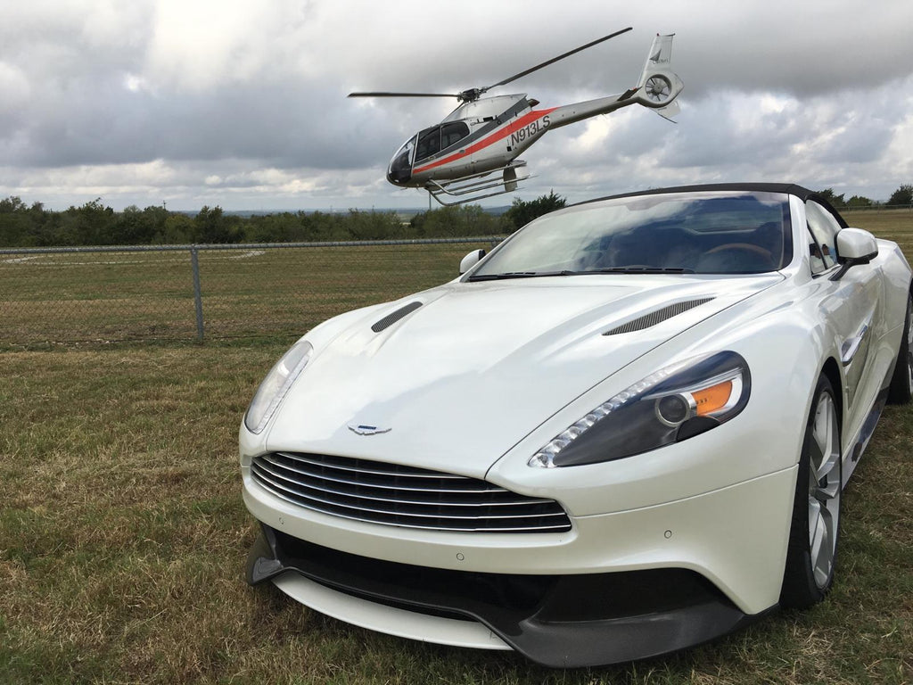 Airbus Ride At The Circuit Of The Americas In Austin For The F Unite - Aston martin austin