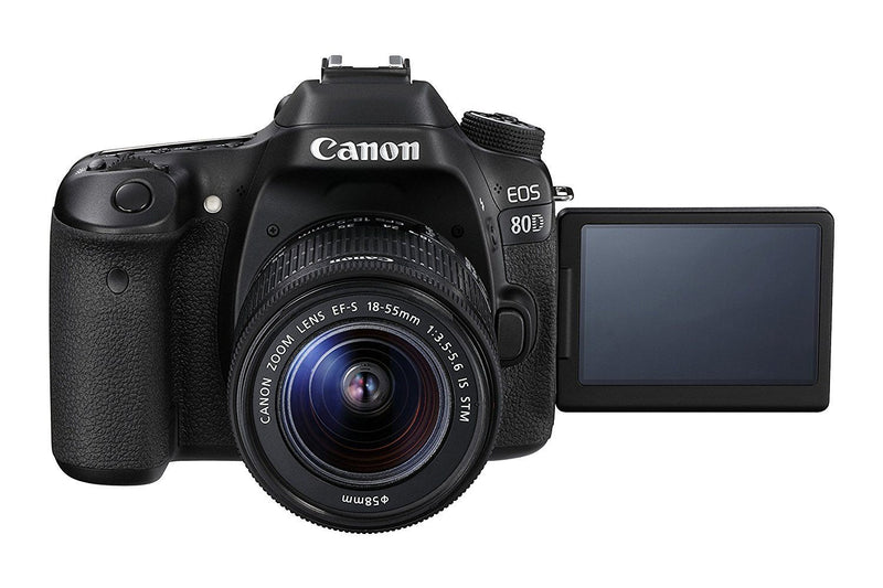 Canon EOS 80D Digital SLR Camera with 18 - 55 mm IS STM Lens - Spend Bitcoin