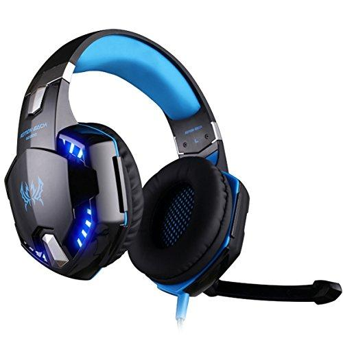 EasySMX LED 3.5mm Gaming LED Lighting Over-Ear Headphones - Spend Bitcoin