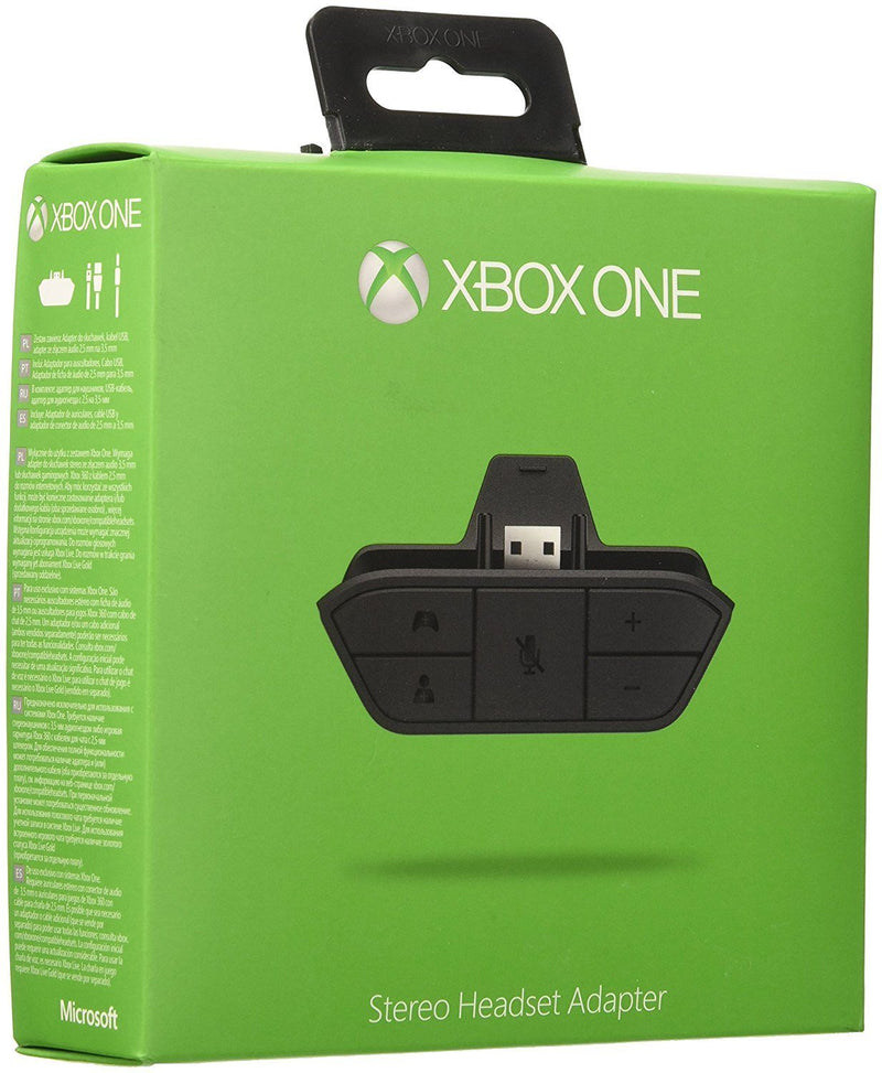 Official Xbox One Stereo Headset Adapter - Spend Bitcoin